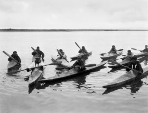 Inuit Skin on Frame Kayaks
