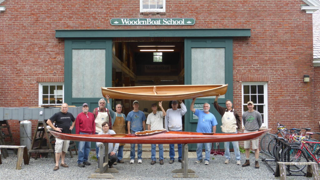WoodenBoat School Kayak Building Class